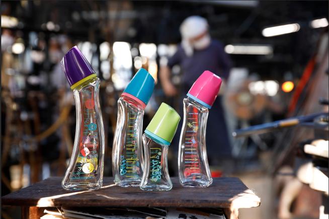 Doctor Betta Baby Bottle Glass made in Japan