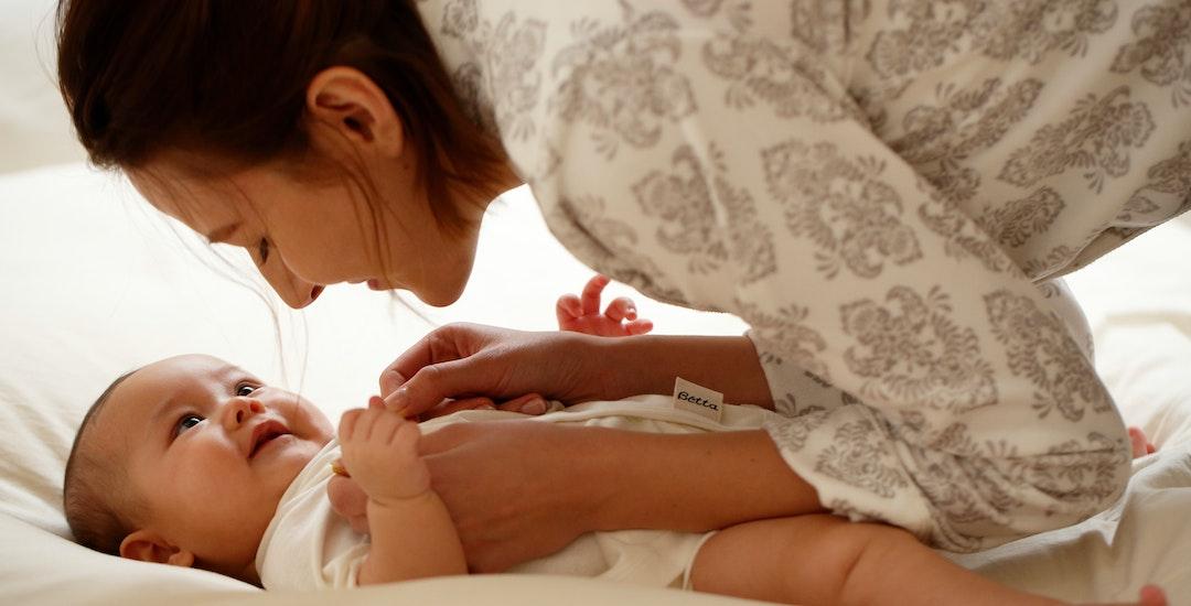 ベッタ マタニティークリームは、赤ちゃんとの大切なスキンシップをサポートします