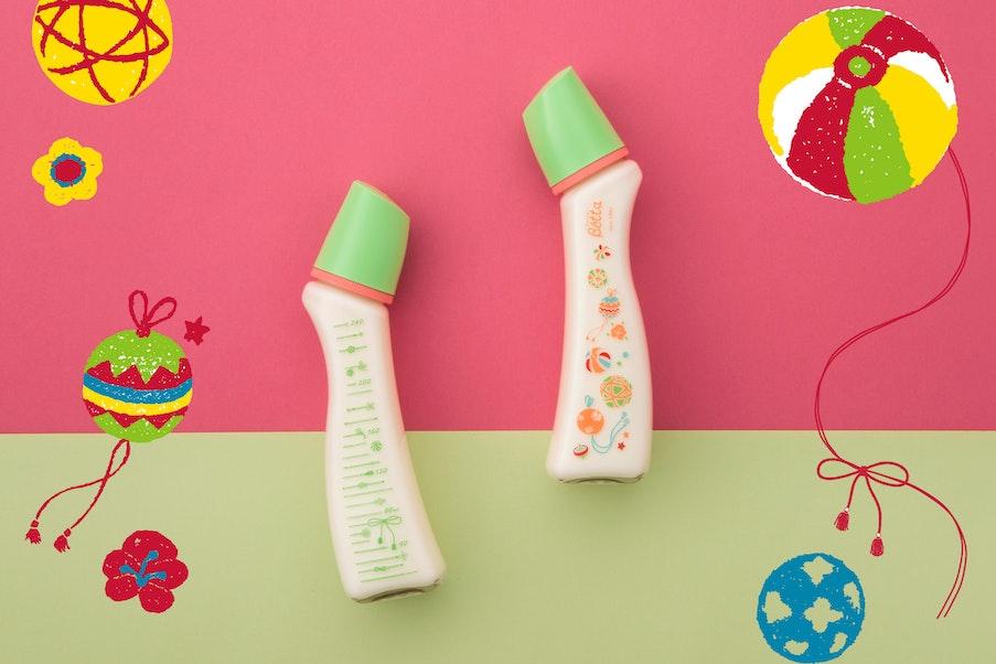 2020年のドクターベッタ25周年記念ボトルのデザインは色彩鮮やかなてまり。