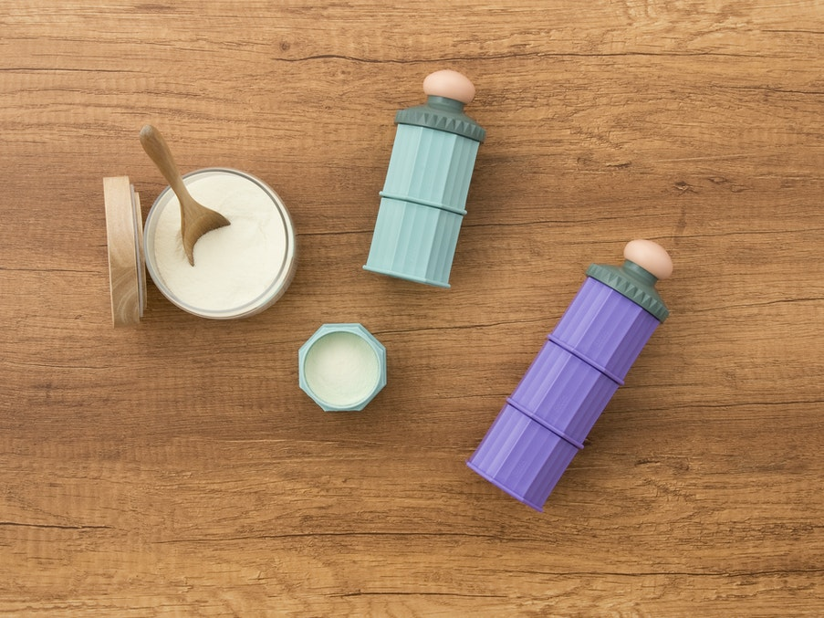 Celadon and Violet are new colors for milk cases♪