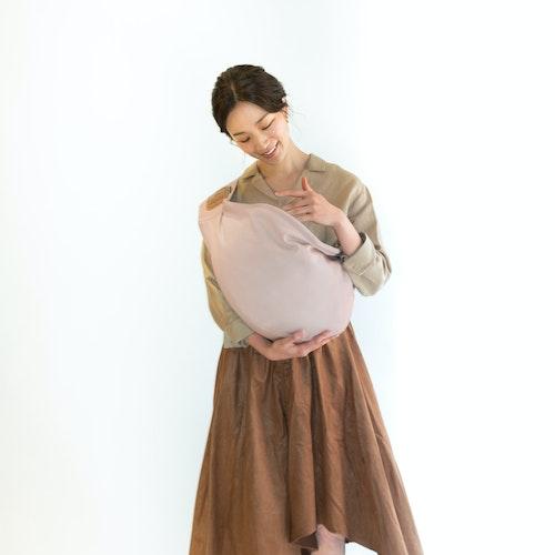 Plain Color Smoky Pink Wearing Image Coordinates
